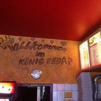 Photo taken at König Kebap by Valentin H. on 9/11/2013