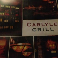 Photo taken at Carlyle Grill by Adam W. on 3/24/2013