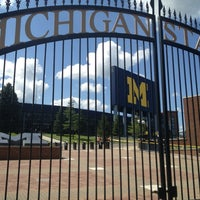 Photo taken at Michigan Stadium by Adam W. on 8/20/2013