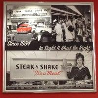 Photo taken at Steak 'n Shake by Adam W. on 3/2/2013