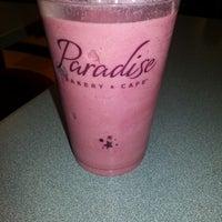 Photo taken at Paradise Bakery & Cafe by Leesha O. on 1/25/2013
