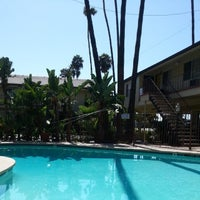 Photo taken at Vagabond Inn San Diego Hotel Circle by Ivan S. on 7/2/2014