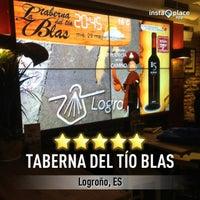 Photo taken at Taberna del Tío Blas by Tirso M. on 5/29/2013