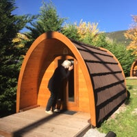 Photo taken at Camping Vall de Camprodon by Tirso M. on 10/11/2015