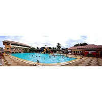Photo taken at Villa Carmelita In-Land Resort & Hotel by Alvin T. on 4/13/2014