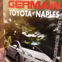 ... Photo Taken At Germain Toyota Of Naples By Angeline S. On 10/22/ ...