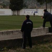 """Photo taken at Campo de Futbol   Antonio Martinez """"El Morao"""" by Jose S. on 1/27/2013"""