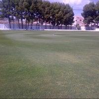 """Photo taken at Campo de Futbol   Antonio Martinez """"El Morao"""" by Jose S. on 4/27/2013"""