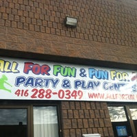 Photo taken at All For Fun Party and Play Center by Jason on 10/11/2012