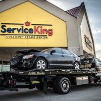 Photo taken at Service King Collision Repair of Madison by Service K. on 7/18/2017