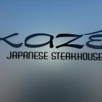 Photo prise au Kaze Japanese Steakhouse & Sushi par Christen C. le10/13/2012