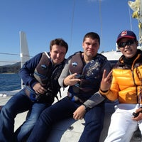 Photo taken at Yacht Tour Shangri-La by Sergey on 11/15/2012