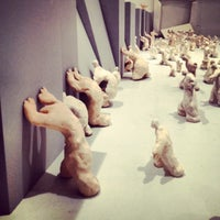 Photo taken at Mathaf: Arab Museum of Modern Art by Sarah E. on 11/17/2012
