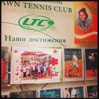 Photo taken at Lawn Tennis Club by www. b. on 9/25/2013