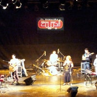 Photo taken at El Genaina Theatre by Hend E. on 5/18/2013