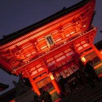 Photo taken at Fushimi Inari Taisha by 友希 山. on 11/25/2012