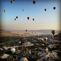 Photo taken at Cappadocia by Kalenderoğlu S. on 5/6/2013