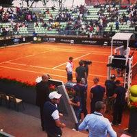 Photo taken at SuperTennis Arena by Lorenzo V. on 5/18/2013