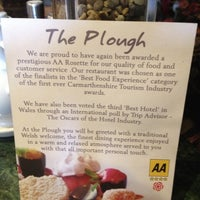 Photo taken at The Plough Inn by Wyn L. on 10/11/2012