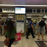 Photo taken at Wynyard Station (Main Concourse) by Tony L. on 12/21/2012