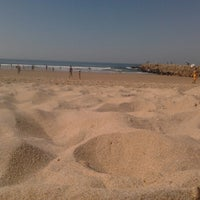 Photo taken at Praia do CDS by Filiipa S. on 10/7/2012