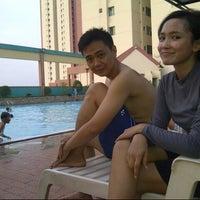 Photo taken at Swimming Pool Graha Cempaka Mas by Atezh M. on 10/14/2012