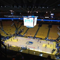 Photo taken at Oracle Arena by Angeles D. on 5/3/2013