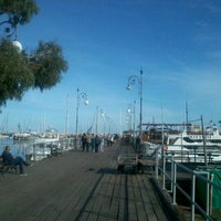 Photo taken at Larnaca Marina by Wael A. on 12/8/2012