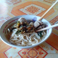 Photo taken at Bakso 73 by R W. on 4/28/2013