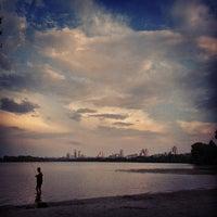 Снимок сделан в Оболонский пляж пользователем Dima S. 6/13/2013