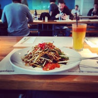 Photo taken at wagamama by Thomas M. on 5/10/2013