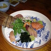 Photo taken at Musashino Sushi Dokoro by Heather W. on 1/11/2013