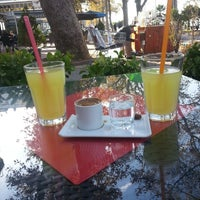 Photo taken at Orient Cafe & Restaurant by Fatma Ö. on 10/9/2013