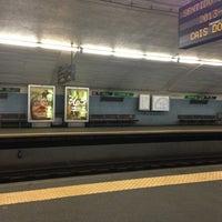 Photo taken at Metro Arroios [VD] by Gustavo F. on 3/15/2013