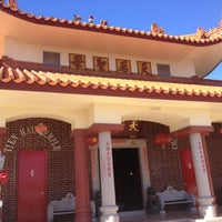 Photo taken at Tien Hau Temple by Luisa S. on 1/17/2013
