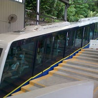 Photo taken at Penang Hill Railway Lower Station by Hanif H. on 12/28/2012