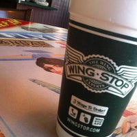 Photo taken at Wingstop by Roberto S. on 4/6/2013