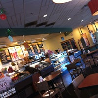Photo taken at Einstein Bros Bagels by Roberto S. on 5/6/2013