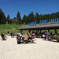 Photo taken at Luge Été Hiver by Benoît C. on 6/30/2013