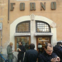 Photo taken at Forno Campo de' Fiori by Federico V. on 12/21/2012
