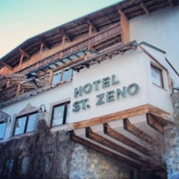 Photo taken at Hotel St. Zeno by Dmitriy T. on 3/7/2013