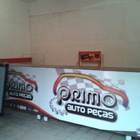 Photo taken at Primo Auto Peças by Thiago G. on 4/21/2014