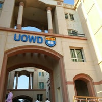 Photo taken at University of Wollongong in Dubai (UOWD) by DrAmit A. on 11/5/2012