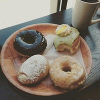 Photo taken at Vortex Doughnuts by Marion on 8/2/2015