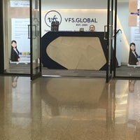 Photo taken at VFS - Joint Visa Application Centre (Austria   Croatia   Czech Republic   Italy   Singapore   Spain) by Pooky S. on 8/19/2016