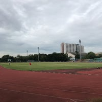 Photo taken at Sports Field by Pooky S. on 7/8/2017