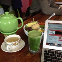 Photo taken at Jivamuktea Café by Social Diva on 3/14/2013