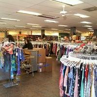 Photo taken at Buffalo Exchange by Alachia Q. on 5/4/2013