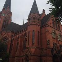 Photo taken at American Church in Berlin by Elton V. on 7/5/2014