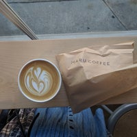 Снимок сделан в Maru Coffee пользователем Tiffany T. 9/14/2018